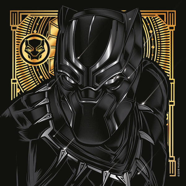 Black Panther Illustrations