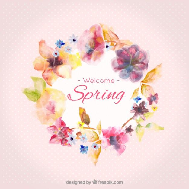 Pink nuances spring