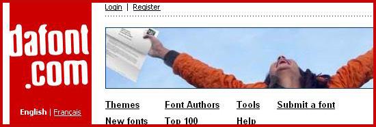 Top 10 FREE font sites