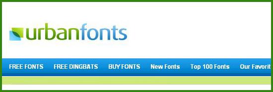 free font site