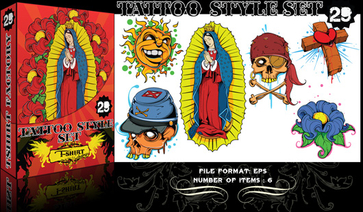 Peaches Tattoo Flash - Native American Set THIS AUCTION IS FOR 200 SHEETS OF