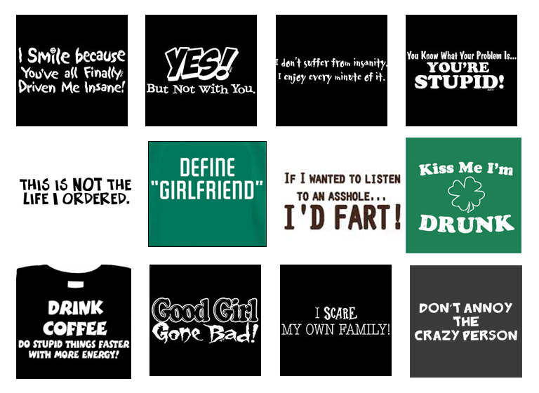 FUNNY STATEMENTS. 7. FUNNY RETRO T-SHIRT