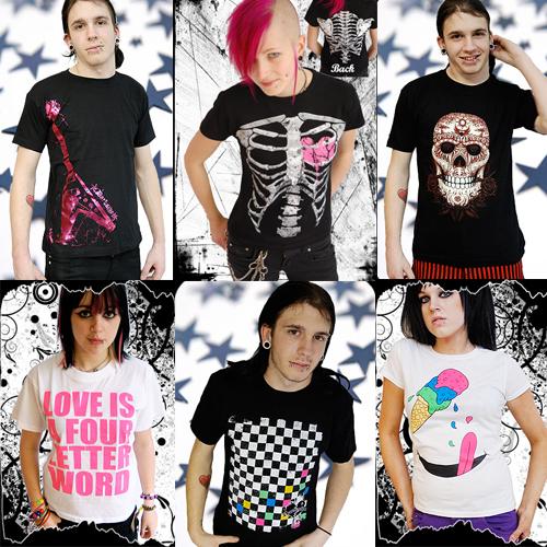 Popular t-shirt design styles for girls