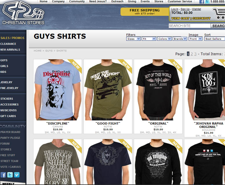 The best 15 t-shirt online stores