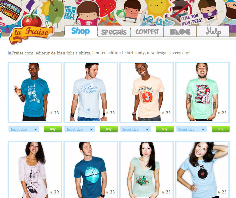 Create t shirt shop online