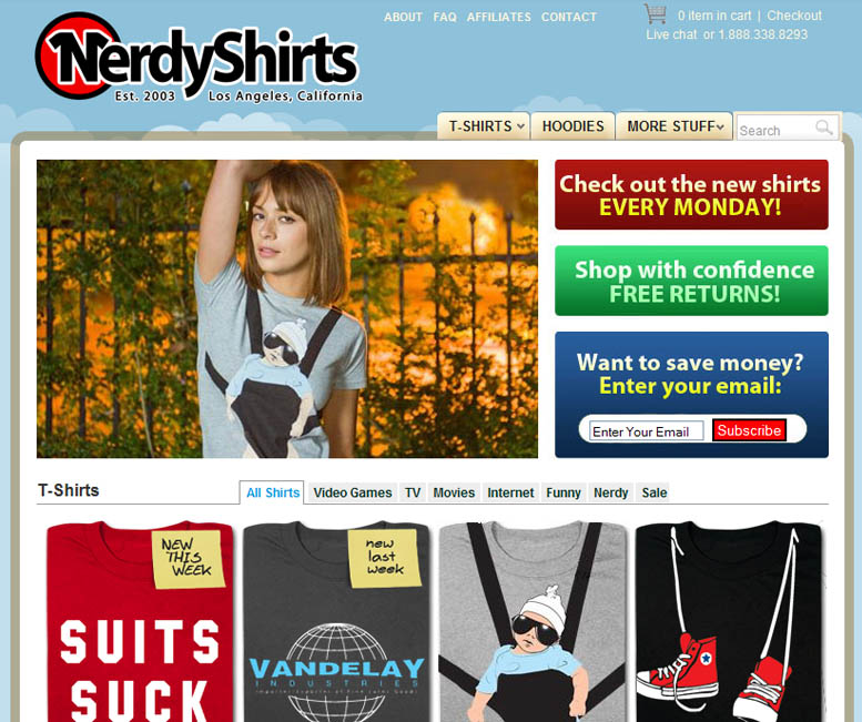 The best 15 t shirt online stores for Website where you can design your own shirt