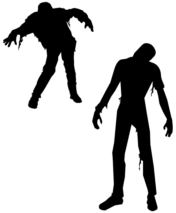 free zombie clipart images - photo #25