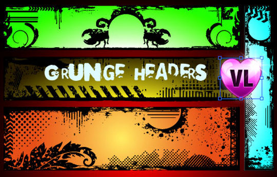 Free Grunge Vectors
