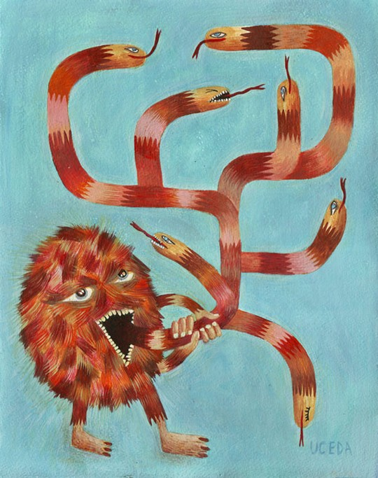 Monster web by Santiago Uceda