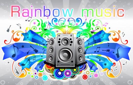 Rainbow Sound Flyier Sample