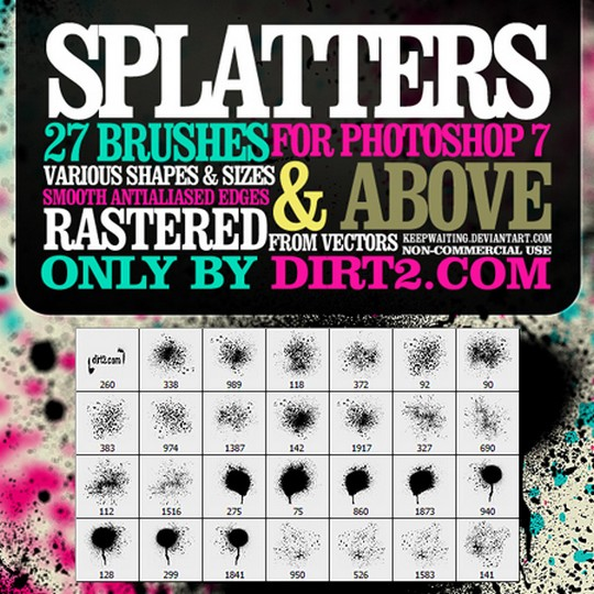 free brushes for Photoshop CS5