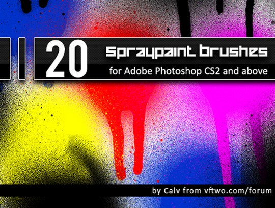Download free brushes for Photoshop CS5