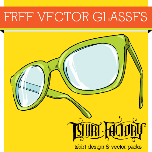 free vector download glasses