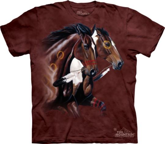 Horse printed t-shirts (6)