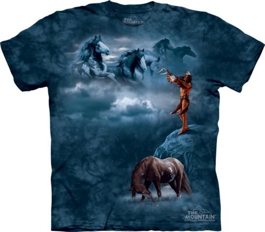 Horse printed t-shirts (2)
