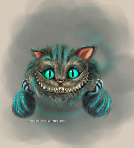 Sneaky Like A Cheshire Cat