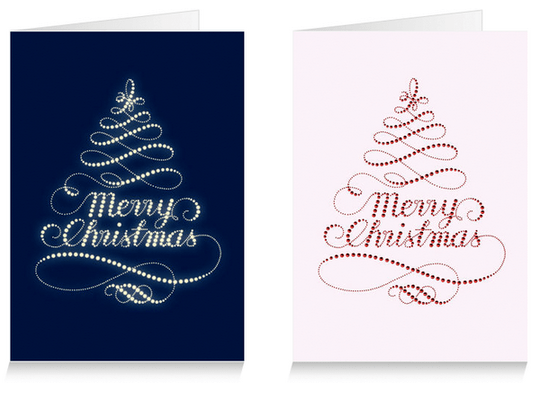 Over 20 Christmas designs for greeting cards !