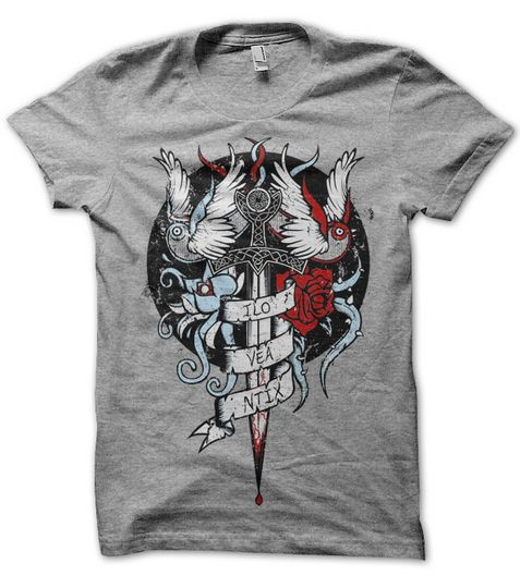Artist of the week t shirt and tattoo designs from gaunty for How to make t shirt art