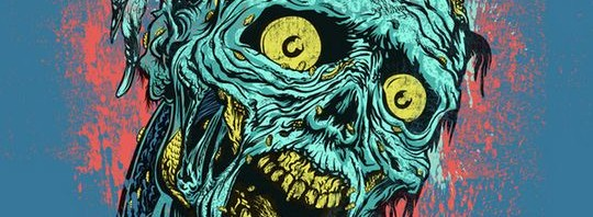 Inspiring graphics of the day - zombie t shirts