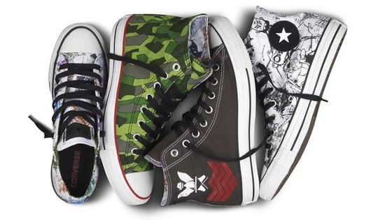 Converse team up with the Gorillaz for their new footwear design