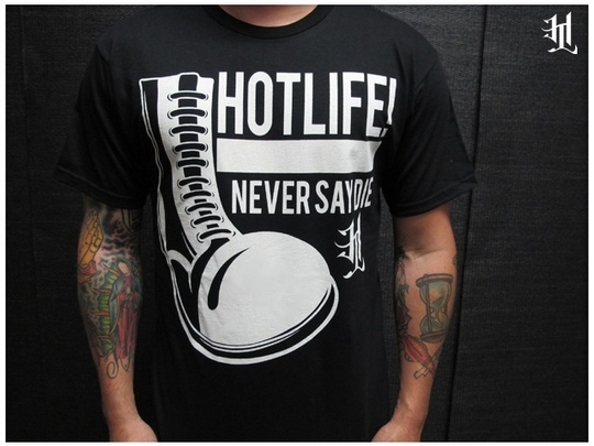 Hotlife t shirt line is a self-made success!