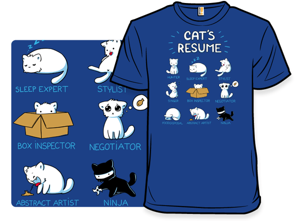 cat t shirts from shirtwoot