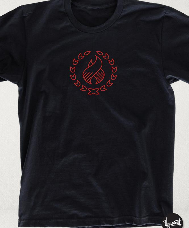 Uppercut have a limited custom t-shirt for you !