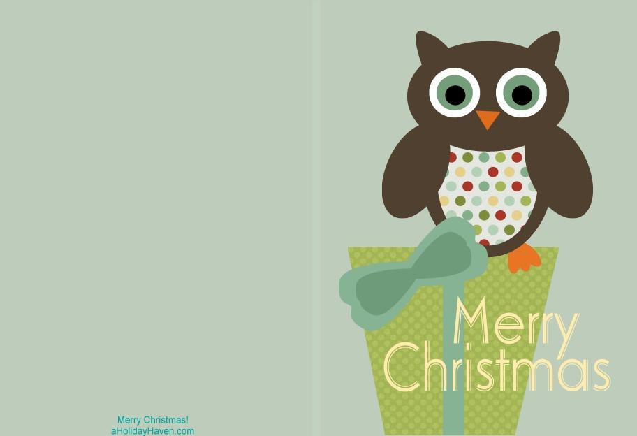 Free printable Christmas cards - T-Shirt Factory