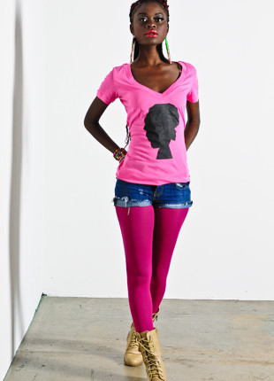 Afro-Centric Woman Silhouette