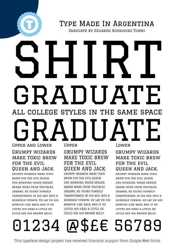 Free Sports Fonts - T-Shirt Factory