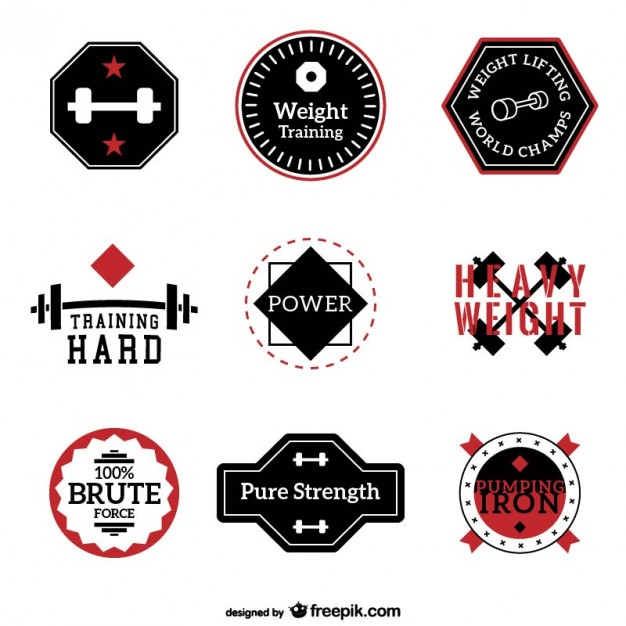 Vector Collection For Fitness And Training T Shirt Factory