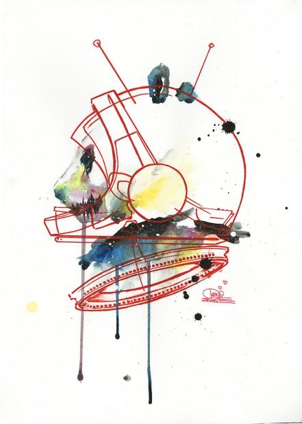 HEROTIME-Original-Art-Space-Panda-III-Email