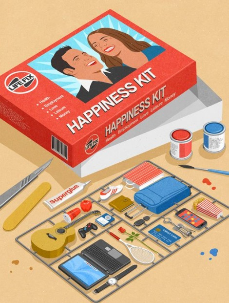 happiness kit by john holcroft