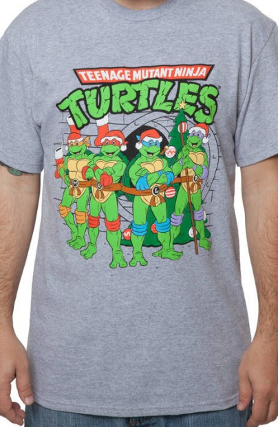Turtles Christmas T-shirts