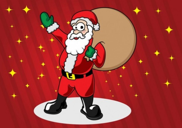 Santa claus bag