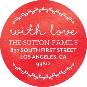 Circle Address Labels