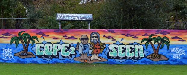 Cope and Seen graffiti