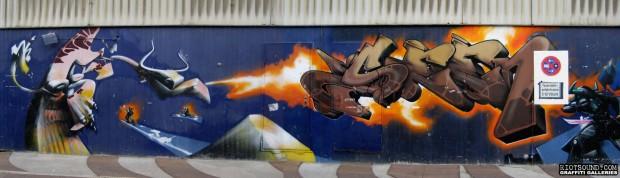Godfather of graffiti