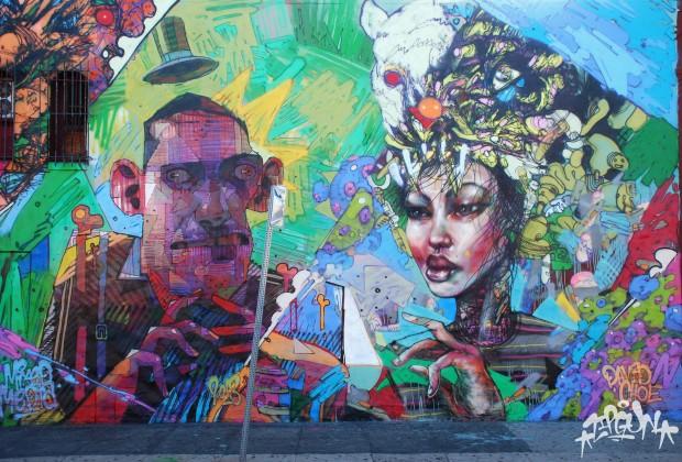 Urban art by david choe for David choe mural