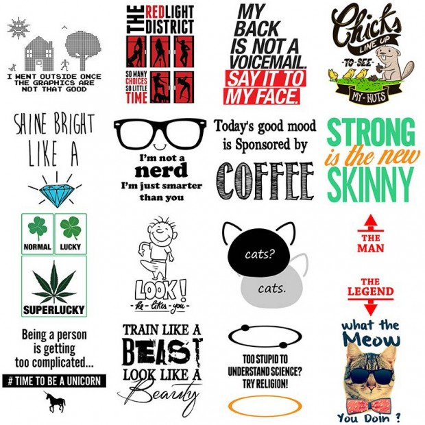 Funny T-shirt Prints