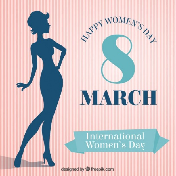International Women's Day -free vectors