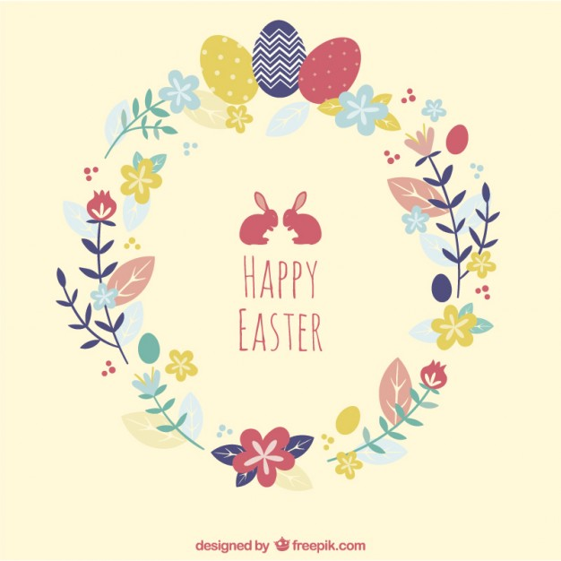 Free Easter Card From Freepik