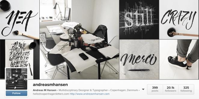 Andreas M Hans graphic designer