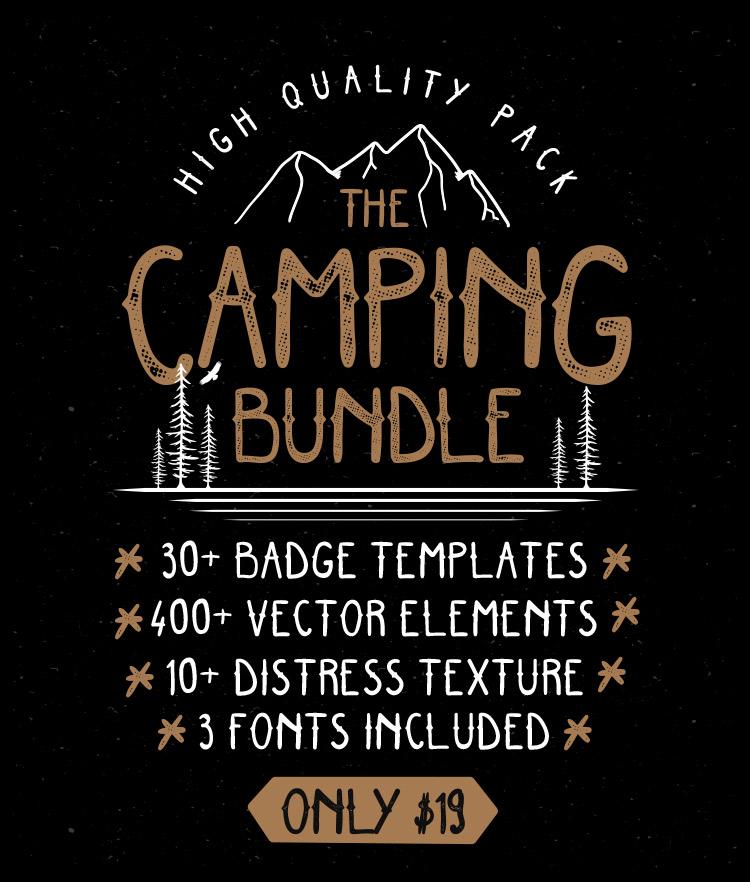 Camping graphic bundle
