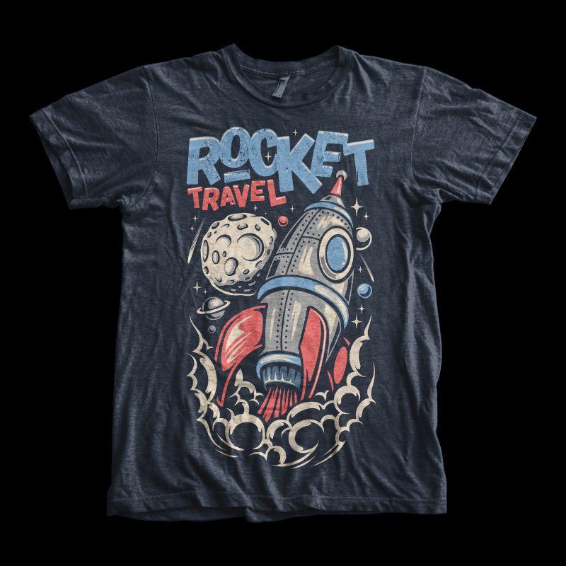 Rocket-Travel-T-shirt-clip-art-20008