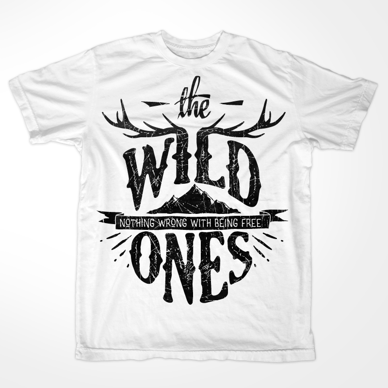 the-wild-ones-t-shirt-template-14201