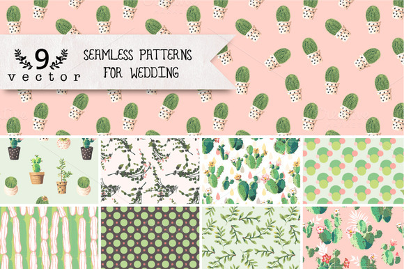 Seanless patterns creative designs