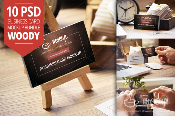 Business Cards Mockup CreativeMarket
