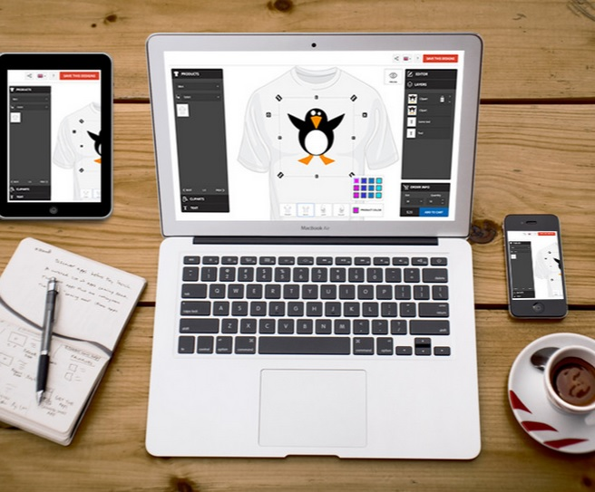 t shirt design software from InkyROBO