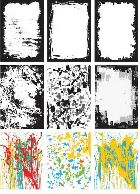 Design kit watercolors